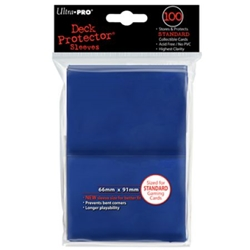 Picture of Deck Protectors Blue Standard Card Sleeve 50-Count Pack