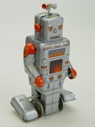 Picture of Weatherman Robot Tin Toy