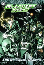 Picture of Blackest Night Rise of the Black Lanterns SC