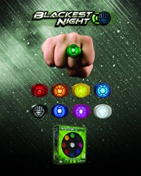 Picture of Blackest Night Power Ring Spectrum Set