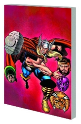 Picture of Thor Black Galaxy Saga SC