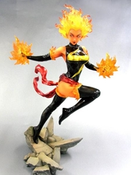 Picture of Marvel Ms Marvel Bishoujo Statue Binary