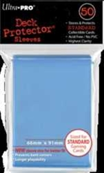 Picture of Deck Protectors Blue Light Standard Card Sleeve 50-Count Pack