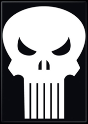 Picture of Punisher Symbol Magnet