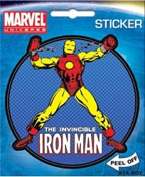 Picture of Iron Man Die Cut Sticker