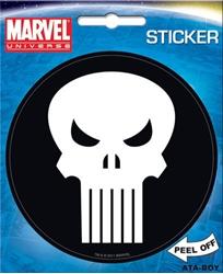 Picture of Punisher Symbol Die Cut Sticker