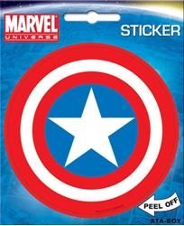 Picture of Captain America Shield Die Cut Sticker