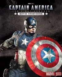 Picture of Captain America First Avenger Movie Storybook