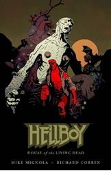 Picture of Hellboy House of the Living Dead HC
