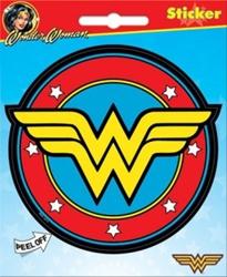 Picture of Wonder Woman Symbol Die Cut Sticker