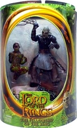 Picture of Lord of the Rings Orc Overseer Fellowship of the Ring Action Figure