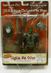 Picture of Lord of the Rings Ugluk at War Action Figure