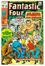 Picture of Fantastic Four #102