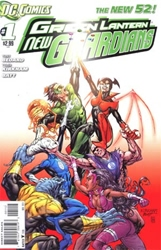 Picture of Green Lantern New Guardians #1 2nd Print
