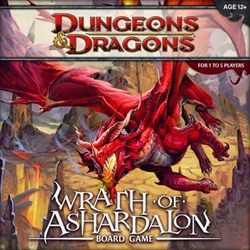 Picture of Dungeons and Dragons Wrath of Ashardalon Board Game