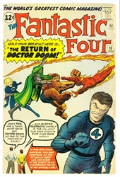 Picture of Fantastic Four #10