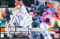 Picture of Gundam G Master Gundam and Fuunsaiki HG 1/144 Scale Model Kit