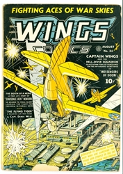 Picture of Wings Comics #24