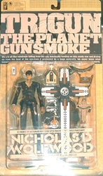 Picture of Trigun Nicholas Wolfwood Action Figure