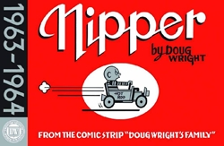 """Picture of Nipper from the Comic Strip """"Doug Wright's Family"""" Vol 01 SC 1963-1964"""