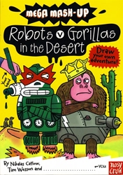 Picture of Mega Mash-Up #1 Robots vs Gorillas in the Desert