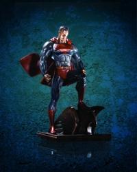 Picture of Superman Patina Mini Statue
