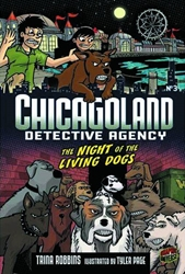 Picture of Chicagoland Detective Agency GN VOL 03 Night of the Living Dogs