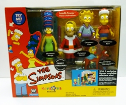 Picture of Simpsons Family Christmas Environment