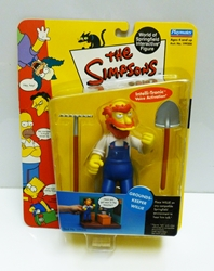 Picture of Simpsons Grounds Keeper Willie Action Figure