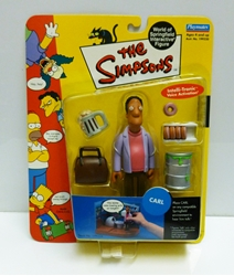 Picture of Simpsons Carl Action Figure
