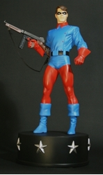 Picture of Bucky WW II Tommy Gun Edition Statue