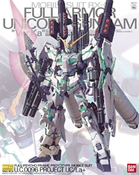 Picture of Gundam UC RX-0 Full Armor Unicorn Gundam Ver. Ka MG Model Kit