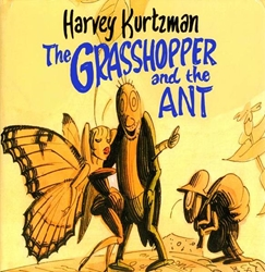 Picture of Grasshopper and the Ant HC