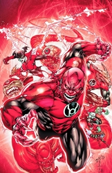 Picture of Red Lanterns Vol 01 SC Blood and Rage