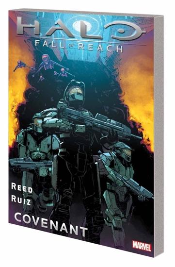 Bedrock City Comic Company Halo Fall Of Reach Covenant Tp