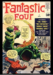 Picture of Fantastic Four #1 Poster