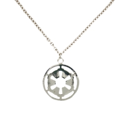 Picture of Star Wars Imperial Symbol Necklace & Pendant