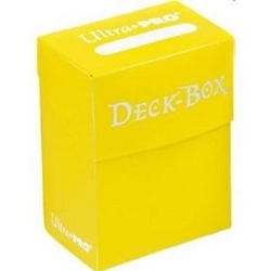 Picture of Card Yellow Deck Box