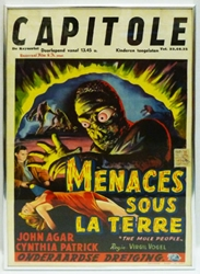 Picture of Mole People Belgian Framed Movie Poster