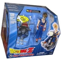 Picture of Dragon Ball Z One Wheel Bike with Exclusive S.S. Gohan Action Figure