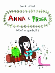 Picture of Anna and Froga Want a Gumball HC