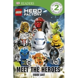 Picture of DK Readers Level 2 LEGO Hero Factory: Meet the Heroes