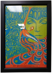 Picture of Doors and Yardbirds at Fillmore Poster