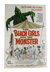 Picture of Beach Girls and the Monster Original 1-Sheet
