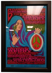 Picture of Doors Winterland Concert Poster