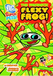 Picture of DC Super Pets Young Reader SC Fantastic Flexy Frog