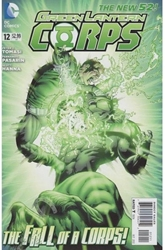 Picture of Green Lantern Corps (2011) #12