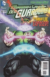 Picture of Green Lantern New Guardians #12