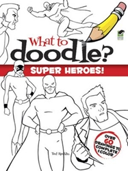 Picture of What to Doodle? Superheroes!
