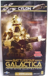 "Picture of Battlestar Galactica Cylon 12"" Gold Figure Tower Records Exclusive"